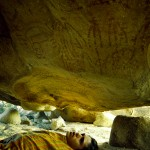 Forest lays beneath the 10,000 year old cave paintings.