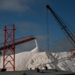 Salt at the end of its processing journey.