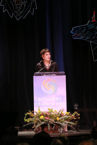 Eve Ensler, author of Vagina Monologues and a fierce women's activist.